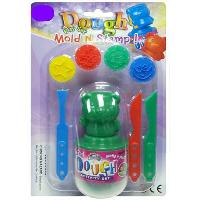 Dough 2 in 1 Mold N Stamp Set