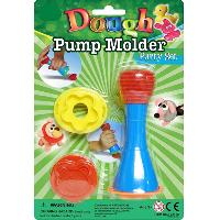 Dough Party Set Pump Molder