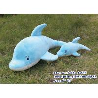 Plush Dolphin in Blue